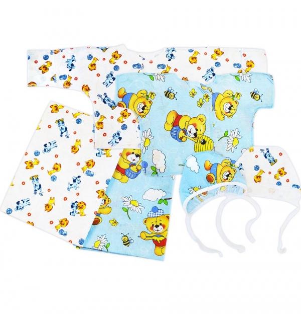 Комплект для новорожденного 6 предметов