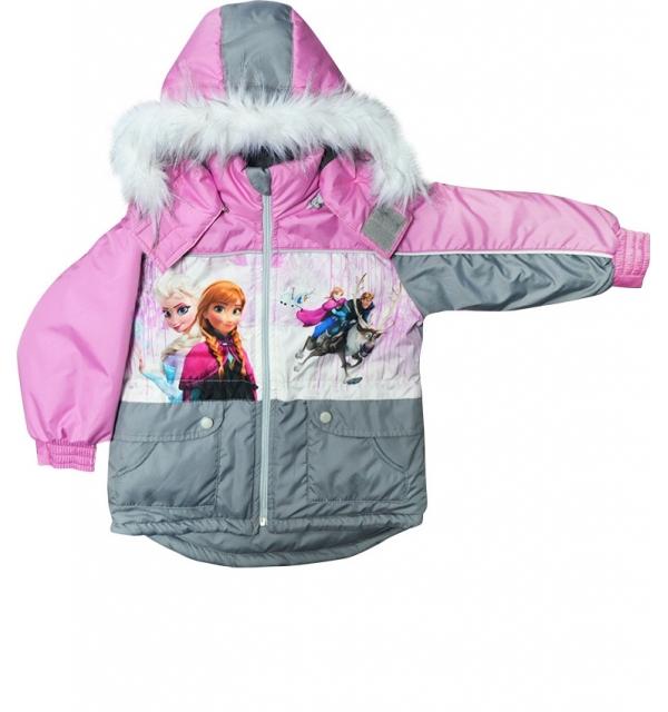 "Куртка деми ""Сказка"" на девочку (Холодное сердце)"