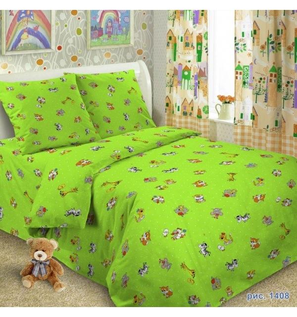 Комплект постельного белья детский БЯЗЬ+ТРИКОТАЖ (для мальчика)
