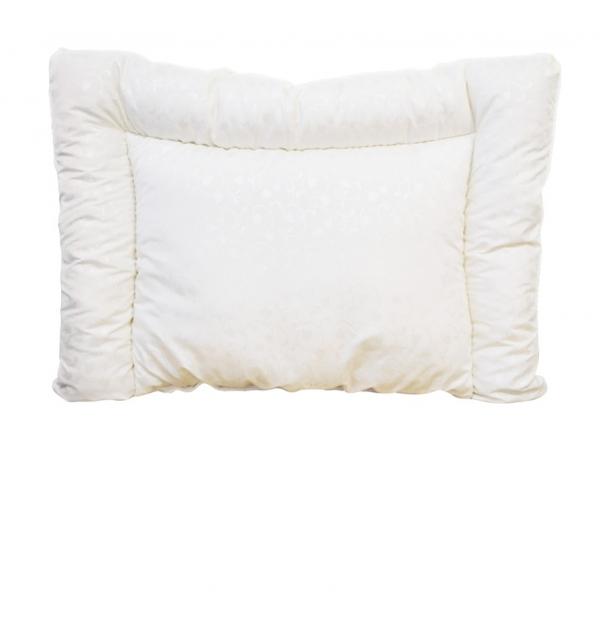 Подушка стеганая в детскую кроватку лебяжий пух