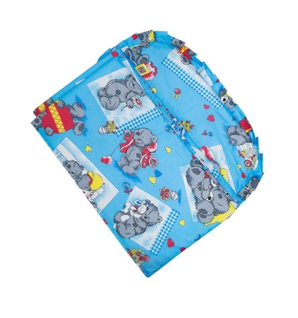 Бортик для детской кроватки (для мальчика)