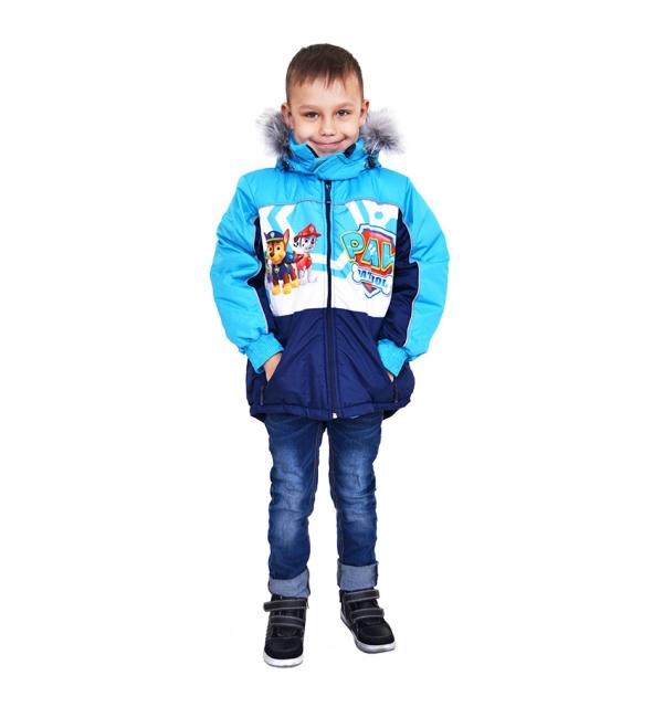 """Куртка деми """"Сказка"""" на мальчика (Щенячий патруль)"""