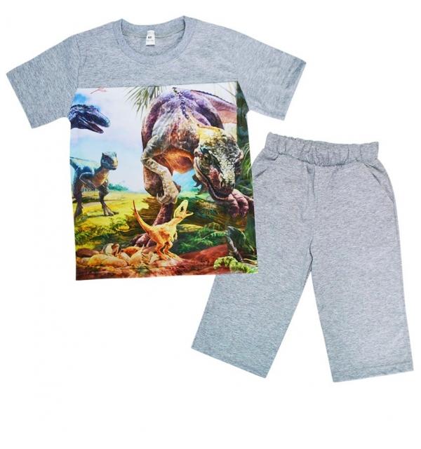 Серия 3D Костюм М-6 на мальчика (Динозавры)