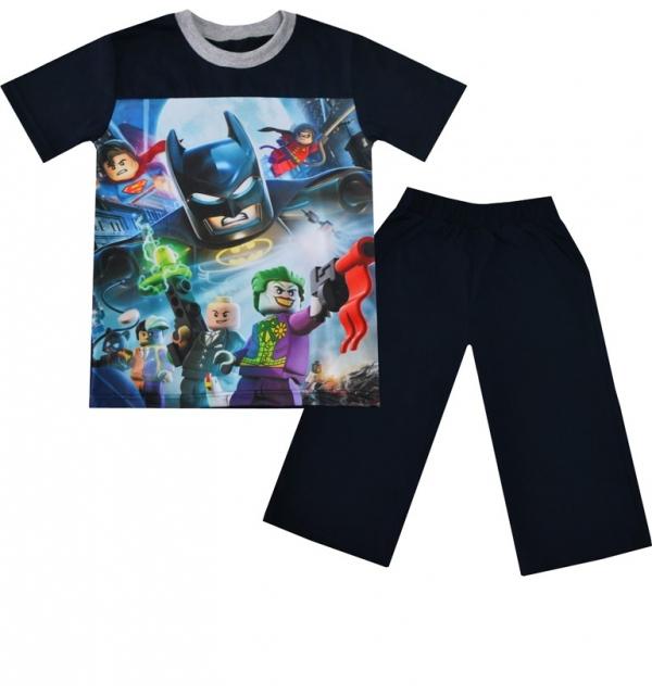 Серия 3D Костюм М-6 на мальчика (Бэтмен)
